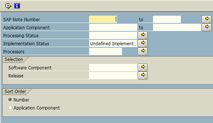 Check SAP OSS note valid for your system via tcode SNOTE
