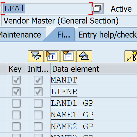 SE80 SAP development help and objects search for tables, function