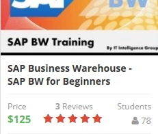 SAP Business Warehouse – SAP BW for Beginners