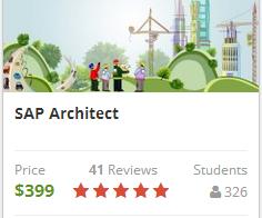 SAP Architect on-line course