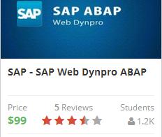 SAP Web Dynpro ABAP training course
