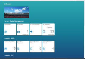SAP Fiori Introduction Step 1 – Free demo system and available apps