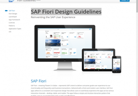 SAP Fiori Introduction Step 2 – SAP Fiori Design Guidelines