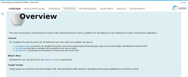 Sapui5 Examples