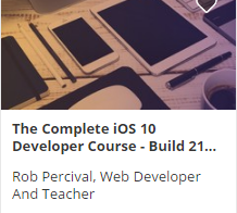 The Complete iOS Developer Course: A review of Rob Percival's course