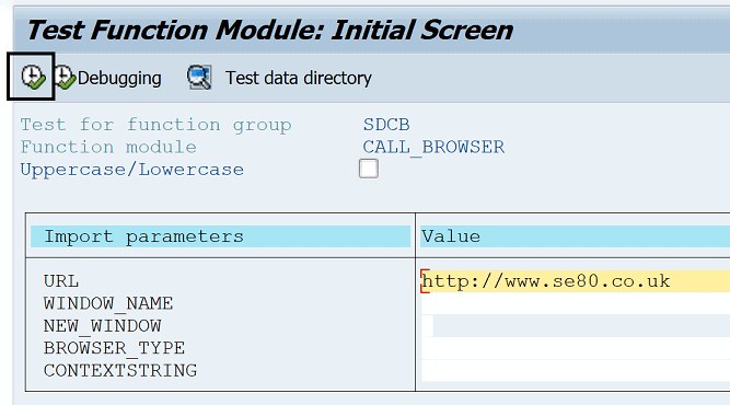 SOAMANAGER SAP does not load or open browser window - SAP