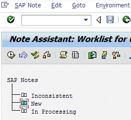SAP SNOTE Automatically implements OSS fixes to your SAP system