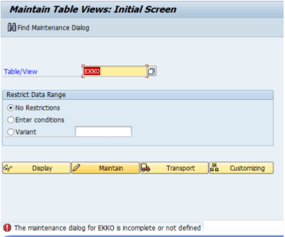 Add data to SAP database table via tcode SM30 SE16 or ABAP code