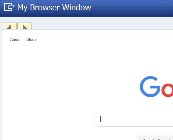 display url output
