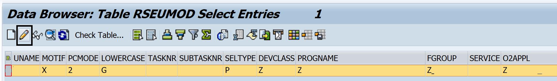SAP se80 window resize bug where left navigation is hidden